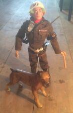 Vintage G.I. JOE/Action Man police militaire. Blonde Painted Head