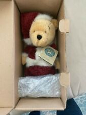 Boyds Bears Disney Exclusive Santa Pooh 1999 with Resin Pooh Ornament