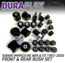 Duraflex bush set suitable for Subaru Impreza inc WRX & STI 1993-2000   Black