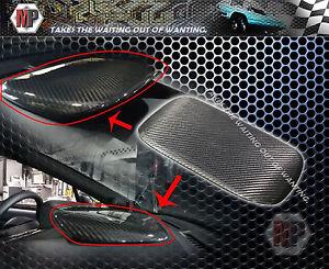 Instrument Panel Console Hood Cover Dry Carbon Fits SUBARU WRX STI  2015 2016