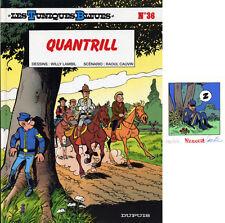 LAMBIL TUNIQUES BLEUES #36 Edition originale +EX-LIBRIS 250 ex. n°/signés