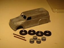 Very rare Australian Micro Models/Brentoy Chevrolet van unpainted and unmade.