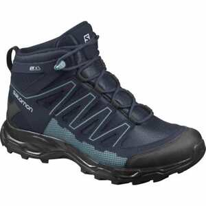 SALOMON Women's Pathfinder Mid ClimaShield Waterproof Hiking Boots US 7