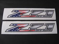 2014 15 16 17 Chevy Silverado GMC Sierra Z71 Offroad AMERICAN FLAG Decal Lot 2