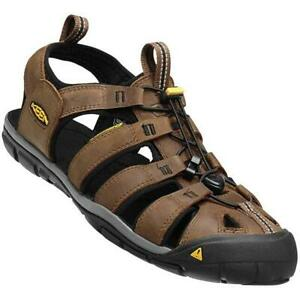 KEEN Clearwater Cnx Leather Dark Earth/Black 1013106/ Chaussures de Montagne