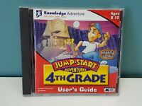 Jump Start Adventures 4th Grade PC Game Windows 3.1 95 98 1996