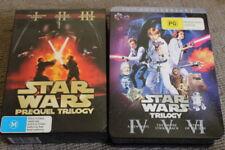 STAR WARS ORIGINAL & PREQUEL TRILOGY RARE DVD STEELBOOK THEATRICAL VERSIONS OOP