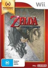 The Legend of Zelda Twilight Princess Nintendo Wii Game NEW