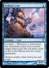 HEDRON CRAB Zendikar MTG Blue Creature — Crab Unc