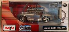 Maisto Custom Shop 1:24 Scale 1965 Shelby Cobra 427