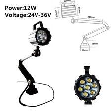 12W 36V 24V CNC Tools Lamp Drilling Work MIlling Lathe LED Lighting Machinery