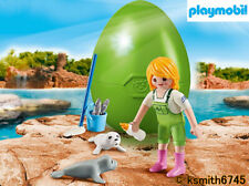 PLAYMOBIL Squalo Martello /& Baby plastic toy Set Wild Zoo Figure Animali NUOVO