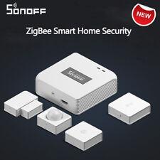 SONOFF ZIGBEE Wireless Gateway HUB Smart Haus Sicherheit APP Alarm Sensoren DIY