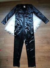 Ann Summers Mistress Dominatrix Wet look Jump Suit Black 20-22 New Tags £35