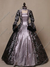 Gothic Sorcerer Gown Countess Dress Steampunk Ghost Halloween Costume 119 Xxl