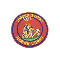 """USMC United States Marine Corps Embroidered Patch Iwo Jima Approximately 4"""""""