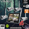 Security Cameras System 2TB House Home Farm IP Wireless Farm Remote Phone View