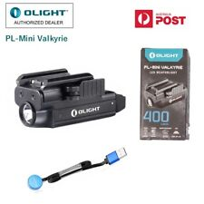 Olight PL-Mini Valkyrie 400 lumen rechargeable LED pistol/Weapon light