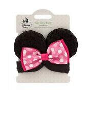 Disney Store Minnie Mouse Ears Headband Piece Costume Get Girly Baby Pink Bow