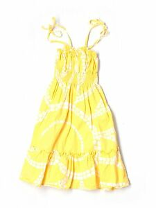 Toddler Girl Lilly Pulitzer Yellow Heart & Sol Sunshine Moon Glow Dress Size 3T