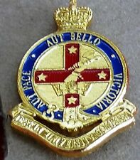 Deakin University Company Anodised Aluminium Collar Badge 1990