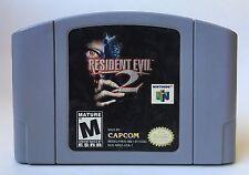 Nintendo 64 N64 Resident Evil 2 Video Game Cartridge