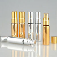 5ml Travel Portable Refillable Perfume Atomizer Bottle Scent Pump Spray Case New