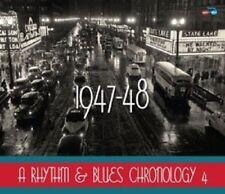 A RHYTHM & BLUES CHRONOLOGY 1947-48 4 CD NEU