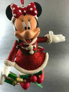 Disney Parks Minnie Mouse Christmas Tree With Ornaments Decoration USA