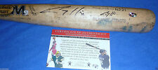 Seattle Mariners Corey Hart Autographed GU Game Used M9 R221 Maple Baseball Bat
