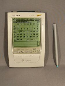 Casio Cassiopea PV-S450/400 Plus PDA with Stylus 4MB
