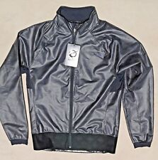 THE NORTH FACE Men Jacket Silky Texture Pattern Medium Black Gray RARE