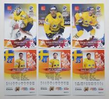 2017 BY cards IIHF World Championship Team Sweden Pick a Player Card