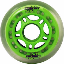 Rollerblade Inline Skates Roller Blade Scooter Wheels Linear 76mm Green Set of 4