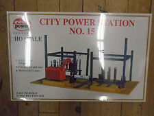 MODEL POWER #416 HO SCALE CITY POWER STATION NO. 15 KIT NEW IN ORIGINAL BOX