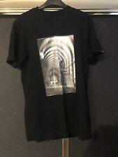 Vans Off The Wall Black T Shirt Size Medium