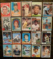 Vintage Baseball Lot #144 (20) 1959-82 Topps '61 Houk '62 Green '72 Burroughs
