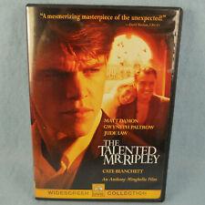 The Talented Mr. Ripley Dvd Matt Damon Jude Law Gwyneth Paltrow