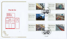 (43100) GB Cotswold FDC Post and Go Mail by Rail Hemel Hempsted 2017