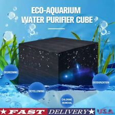 Activated Carbon Water Filter Eco-Aquarium Water Purifier Cube Ultra Strong Mult