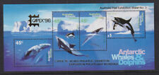 Australian Antarctic Territory 1995 Mint MNH Minisheet Whales & Dolphins CAPEX