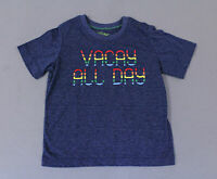 Kapital K Boy's Short Sleeve Vacay All Day Tee T-Shirt TM8 Blue Size 18-24M NWT