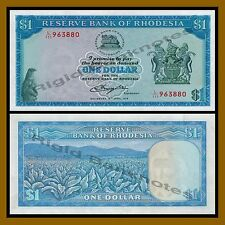 Rhodesia 1 Dollar, 1978 P-34c Unc