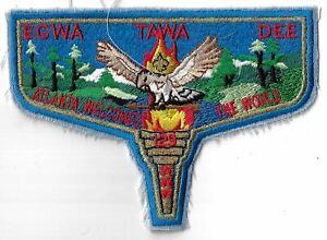 OA Egwa Tawa Dee Lodge 129 Atlanta Welcomes The World S17 Flap BLU Bdr. GA [MX-6