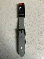 "Nike Baseball 2.0 Adult Gray Adjustable Belt 28"" to 43"" New w/Tags"