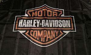 HARLEY D HUGE Flag..Classic car show, Man Cave, Garage, Shed