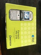 Pantech Pn-218 - Silver (Alltel) Cellular Phone