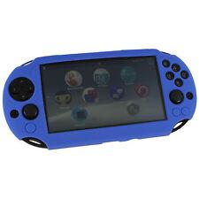 ZedLabz SC-1 protector de piel de silicona cubierta caso Sony PS Vita 2000 Slim-Azul