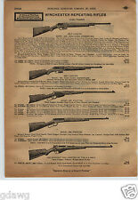 1913 PAPER AD Winchester Repeating Rifle Carbines 1894 1892 1905 1907 1895 Navy