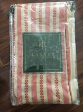 Ralph Lauren Hawk Red Tan Beige Stripes Euro Sham 1 One New